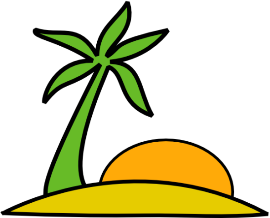 Island_Palm_And_The_Sun_clip_art_hight